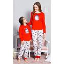 Dětské pyžamo dlouhé Tučňák velký