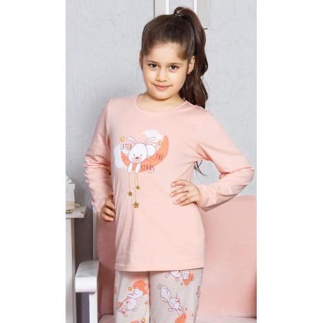 Dětské pyžamo dlouhé Králík velký