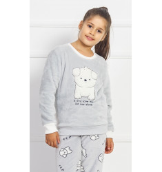 Dětské pyžamo dlouhé Štěňátko