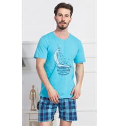 Pánské pyžamo šortky Jachting