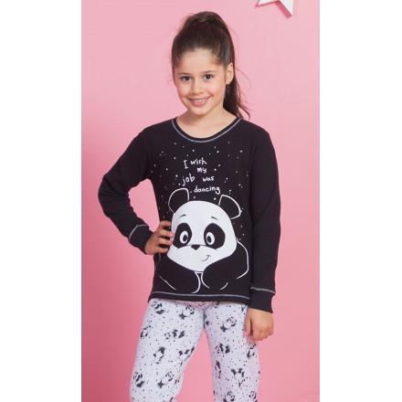 Dětské pyžamo dlouhé Velká panda