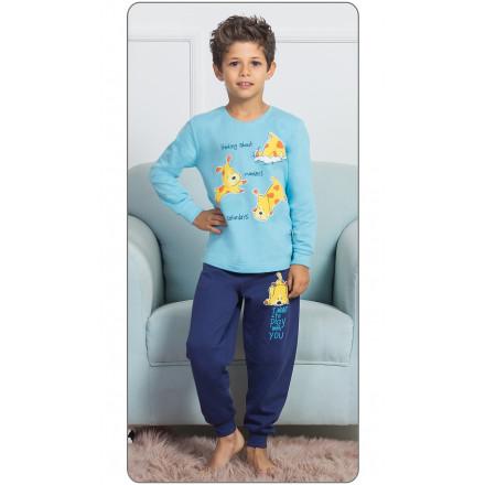 Dětské pyžamo dlouhé Štěňata