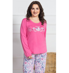 Dámské pyžamo dlouhé Lara