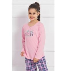 Dětské pyžamo dlouhé Crazy cat