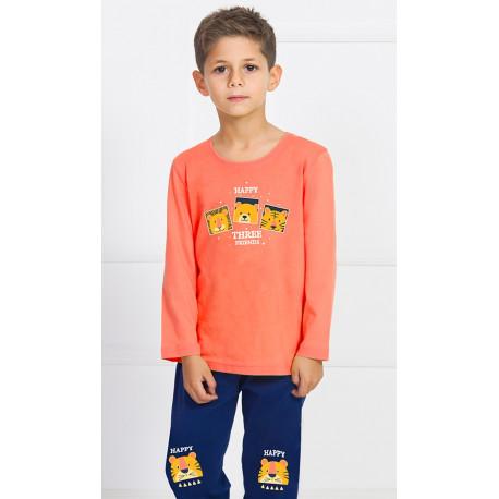 Dětské pyžamo dlouhé Kamarádi