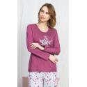 Dámské pyžamo dlouhé Viola