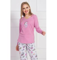 Dámské pyžamo dlouhé Dreams