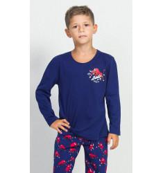 Dětské pyžamo dlouhé Býk