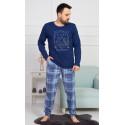Pánské pyžamo dlouhé Buffalo