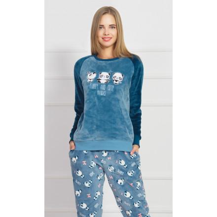 Dámské pyžamo dlouhé Malé pandy