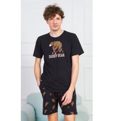 Pánské pyžamo šortky Daddy bear