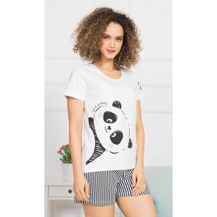 Dámské pyžamo šortky Velká panda