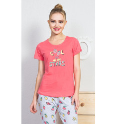 Dámské pyžamo kapri Fruit