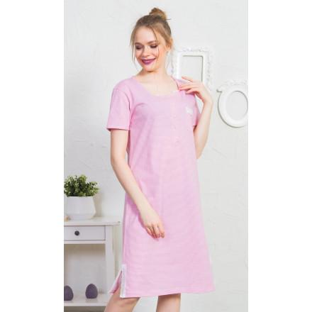 Dámská noční košile s krátkým rukávem Karin