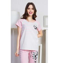 Dámské pyžamo kapri Happy times