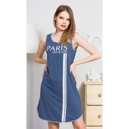 Dámská noční košile na ramínka Paris