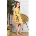 Dětská noční košile s krátkým rukávem Žirafa Long