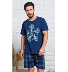 Pánské pyžamo šortky Bicycle