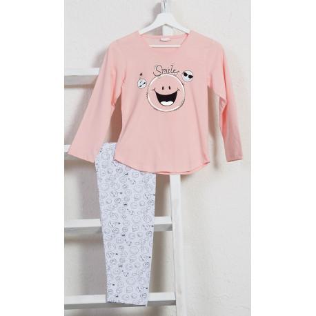 Dětské pyžamo s dlouhým rukávem Big smile