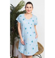 Dámské domácí šaty s krátkým rukávem Mořské hvězdy