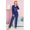 Dámské pyžamo dlouhé Pudlík