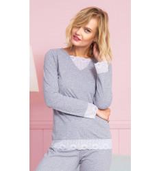 Dámské pyžamo dlouhé Kristýna