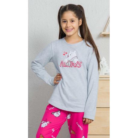 Dětské pyžamo dlouhé Méďa