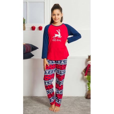 Dětské pyžamo dlouhé Ohh deer