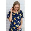 Dámská noční košile mateřská Citrusy