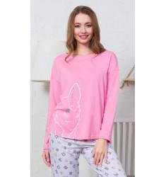 Dámské pyžamo dlouhé Sabina
