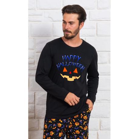 Pánské pyžamo dlouhé Halloween
