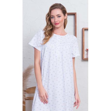 Dámská noční košile s krátkým rukávem Marika