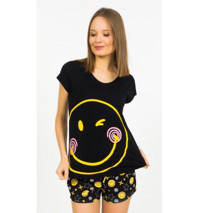 Dámské pyžamo šortky Smile everyday