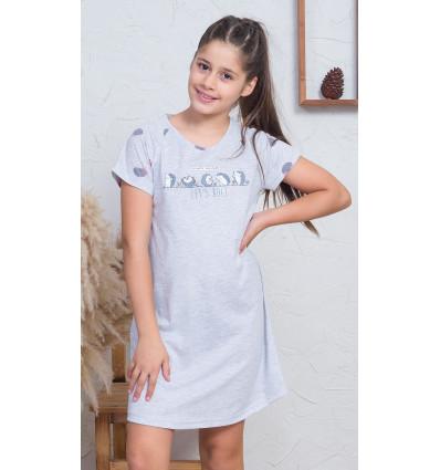 Dětská noční košile s krátkým rukávem Ježci