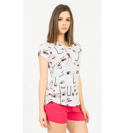 Dámské pyžamo šortky Frída