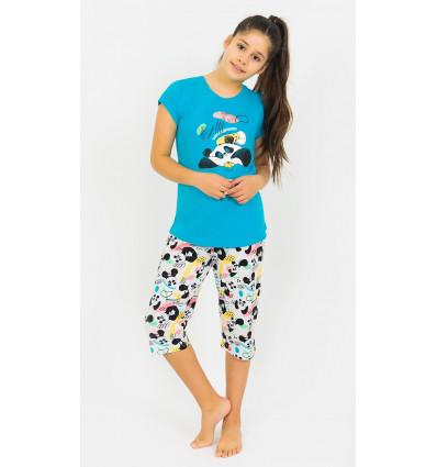 Dětské pyžamo kapri Panda a muffin