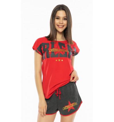 Dámské pyžamo šortky Cheerleading