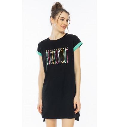 Dámská noční košile s krátkým rukávem Amanda