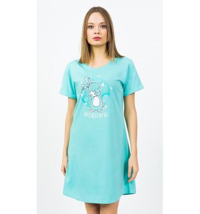 Dámská noční košile s krátkým rukávem Wonderful