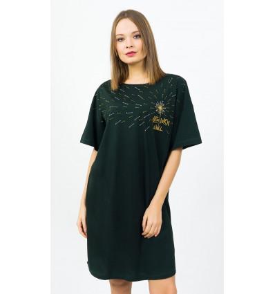 Dámská noční košile s krátkým rukávem Wish