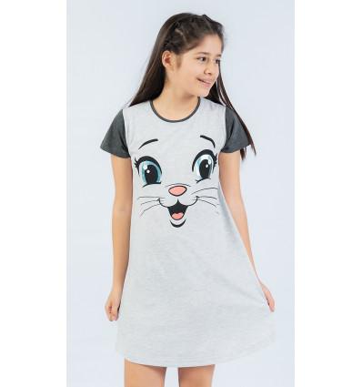 Dětská noční košile s krátkým rukávem Miláček