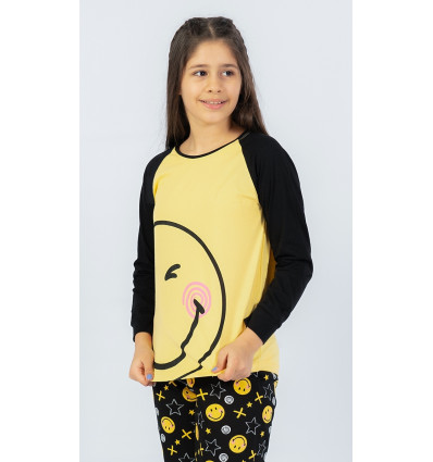 Dětské pyžamo dlouhé Úsměv
