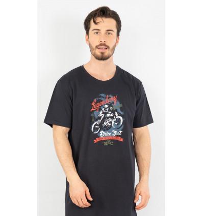 Pánská noční košile s krátkým rukávem Legendary