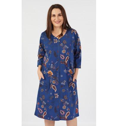 Dámské domácí šaty s krátkým rukávem Jasmína