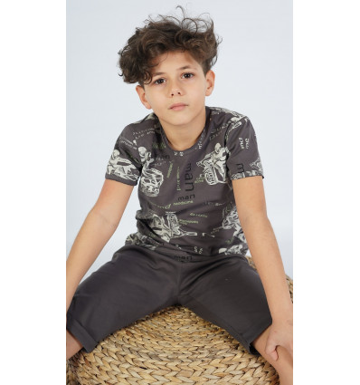 Dětské pyžamo bermudy Samuel