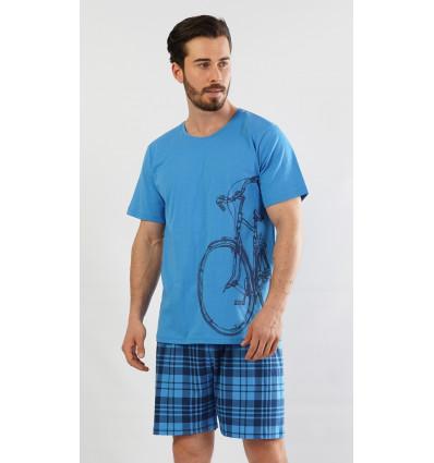 Pánské pyžamo šortky Velké kolo