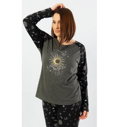 Dámské pyžamo dlouhé The moon