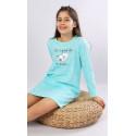 Dětská noční košile s dlouhým rukávem Sleeping day