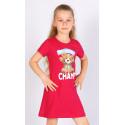 Dětská noční košile s krátkým rukávem Méďa