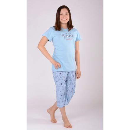 Dětské pyžamo kapri Jezevčík